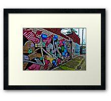 Urban Laneway (2) Framed Print