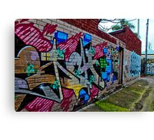 Urban Laneway (2) Canvas Print