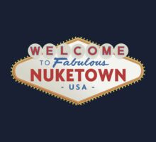 welcome to nuketown Kids Tee