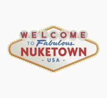 welcome to nuketown Kids Tee