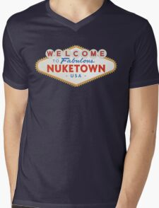 welcome to nuketown Mens V-Neck T-Shirt