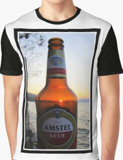 Sunset in a bottle ...... Graphic T-Shirt