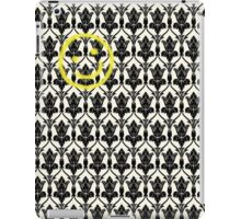 BBC Sherlock 'Bored Smiley Face'  iPad Case/Skin