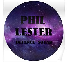 Phil Lester Defence Squad! Poster