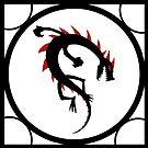 dragon icon 1 print... by kangarookid