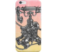 Vintage Antique Telephone Art Deco Design iPhone Case/Skin