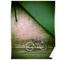 Back Alley Bike Poster