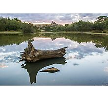 Reflected water Photographic Print