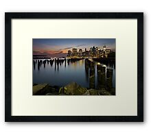 Summer Evening Harmony Framed Print