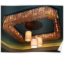 Another Interesting Ceiling Lamp, Parsippany Hilton Poster