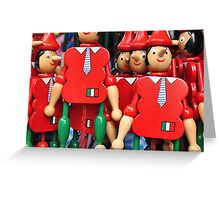 Pinocchio Florence (CARD ONLY) Greeting Card