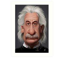 Celebrity Sunday - Albert Einstein Art Print