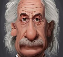 Celebrity Sunday - Albert Einstein by robCREATIVE