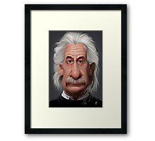 Celebrity Sunday - Albert Einstein Framed Print