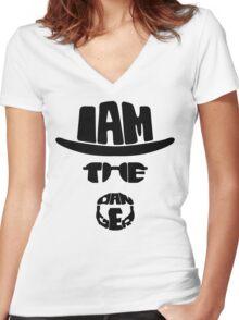 The danger Women's Fitted V-Neck T-Shirt