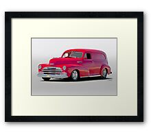 1947 Chevrolet Stylemaster Delivery Sedan Framed Print