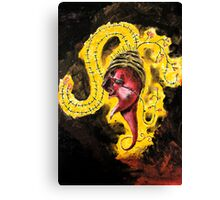 THE RED FACE Canvas Print