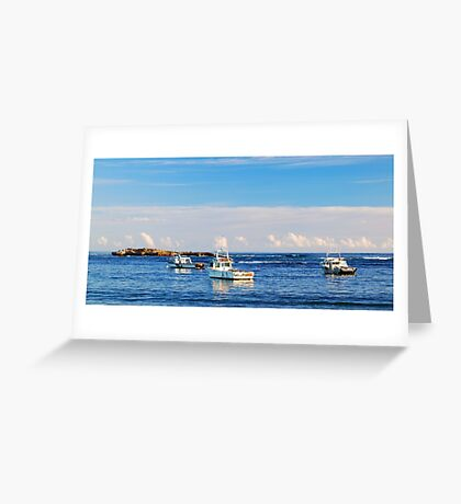 Carpenter Rocks Seascape Greeting Card