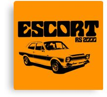 Ford Escort RS 2000 Men's Classic Car T-Shirt Canvas Print