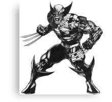 Wolverine 3 Canvas Print