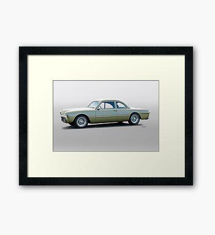1949 Ford 'Mildly Wild Kustom' Coupe Framed Print