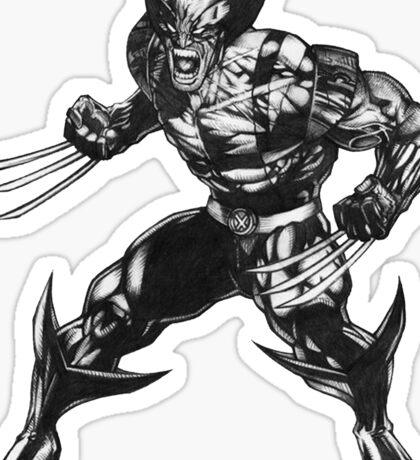 Wolverine 3 Sticker