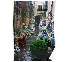 Brick-a-Brack Street in Genoa. Italy 2012 Poster