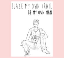 Be My Own Man - Dean Winchester Sketch One Piece - Long Sleeve