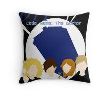 Code Name: The Doctor Throw Pillow