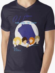 Code Name: The Doctor V.1 Mens V-Neck T-Shirt