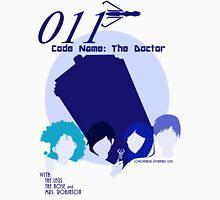 Code Name: The Doctor BlueTone for White Shirt Unisex T-Shirt
