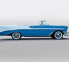 1956 Chevrolet Bel Air Convertible by DaveKoontz