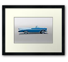 1956 Chevrolet Bel Air Convertible Framed Print