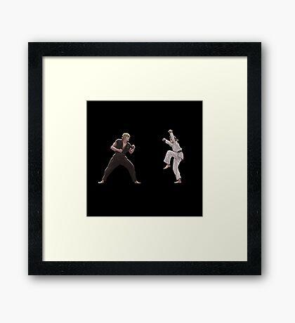 karate kid Framed Print