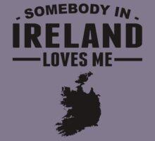 Somebody In Ireland Loves Me Kids Tee