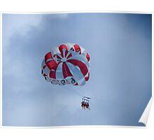 Paraglider. Poster