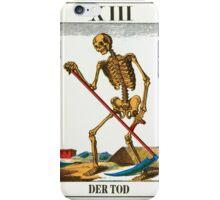 Tarot Card - Death iPhone Case/Skin