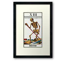 Tarot Card - Death Framed Print