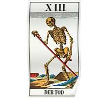 Tarot Card - Death Poster