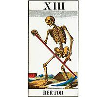 Tarot Card - Death Photographic Print