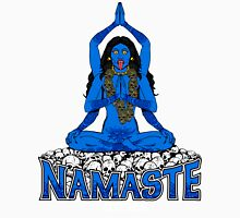 "Namaste ... bitches (or ""Going Back to Kali"") Womens Fitted T-Shirt"