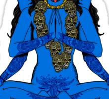 "Namaste ... bitches (or ""Going Back to Kali"") Sticker"