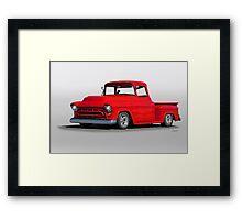 1957 Chevrolet Stepside Pickup Framed Print