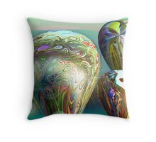 Sunrise Balloon Launch  (G0865) Throw Pillow