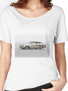 1957 Pontiac Starliner Safari Wagon Women's Relaxed Fit T-Shirt
