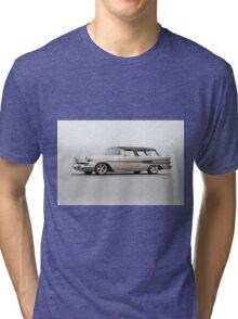 1957 Pontiac Starliner Safari Wagon Tri-blend T-Shirt