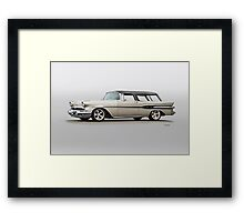 1957 Pontiac Starliner Safari Wagon Framed Print
