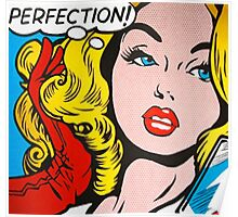 Perfection pop girl Poster