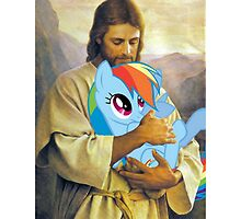 Jesus Loves Rainbow Dash by eeveemastermind