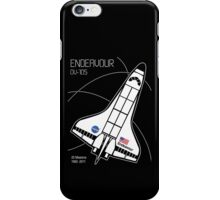Space Shuttle Endeavour iPhone Case/Skin